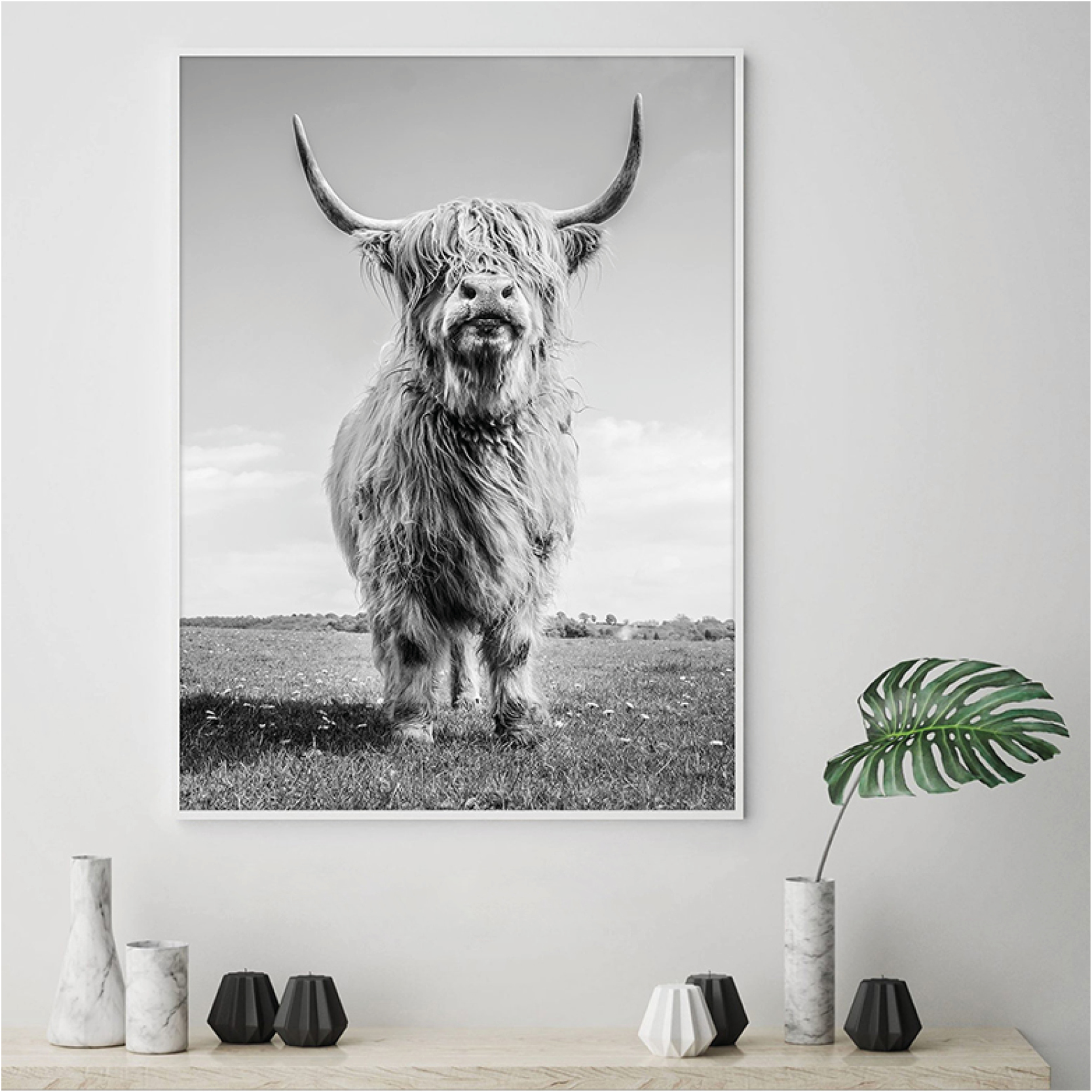 Highland Cow – Picture Frame